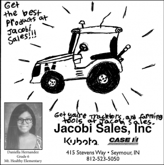 Jacobi Sales Inc.