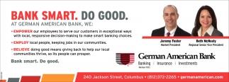Bank Smart. Do Good.