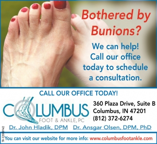 Bothered By Bunions?
