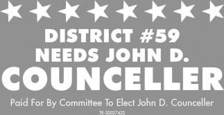 District #59 Needs John D. Counceller
