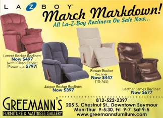 March Markdown!