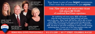 The New Jeff And Joy  Hilycord Team With Almost 80 Years Of Combined Real Estate Experience
