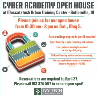 Cyber Academy Open House