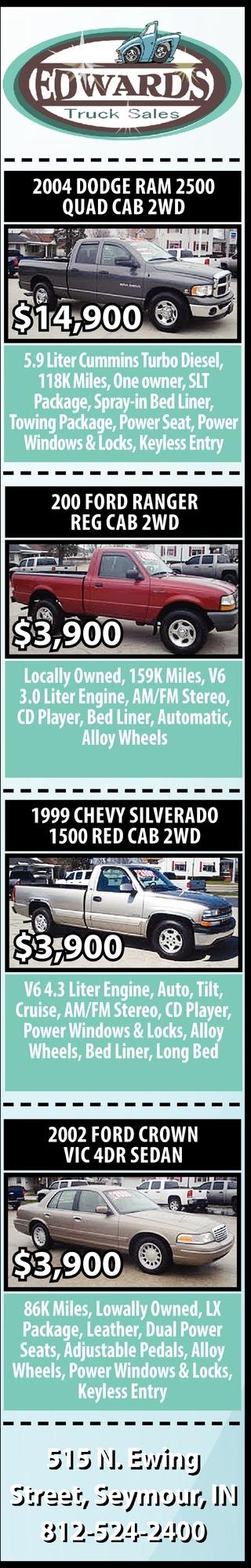 2004 Dodge Ram 2500 Quad Cab 2WD
