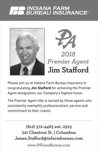 2018 Premier Agent: Jim Stafford