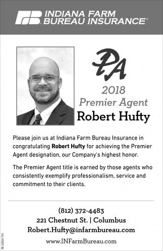 2018 Premier Agent: Robert Hufty