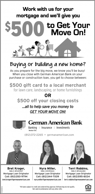 Buying Or Building A New Home?